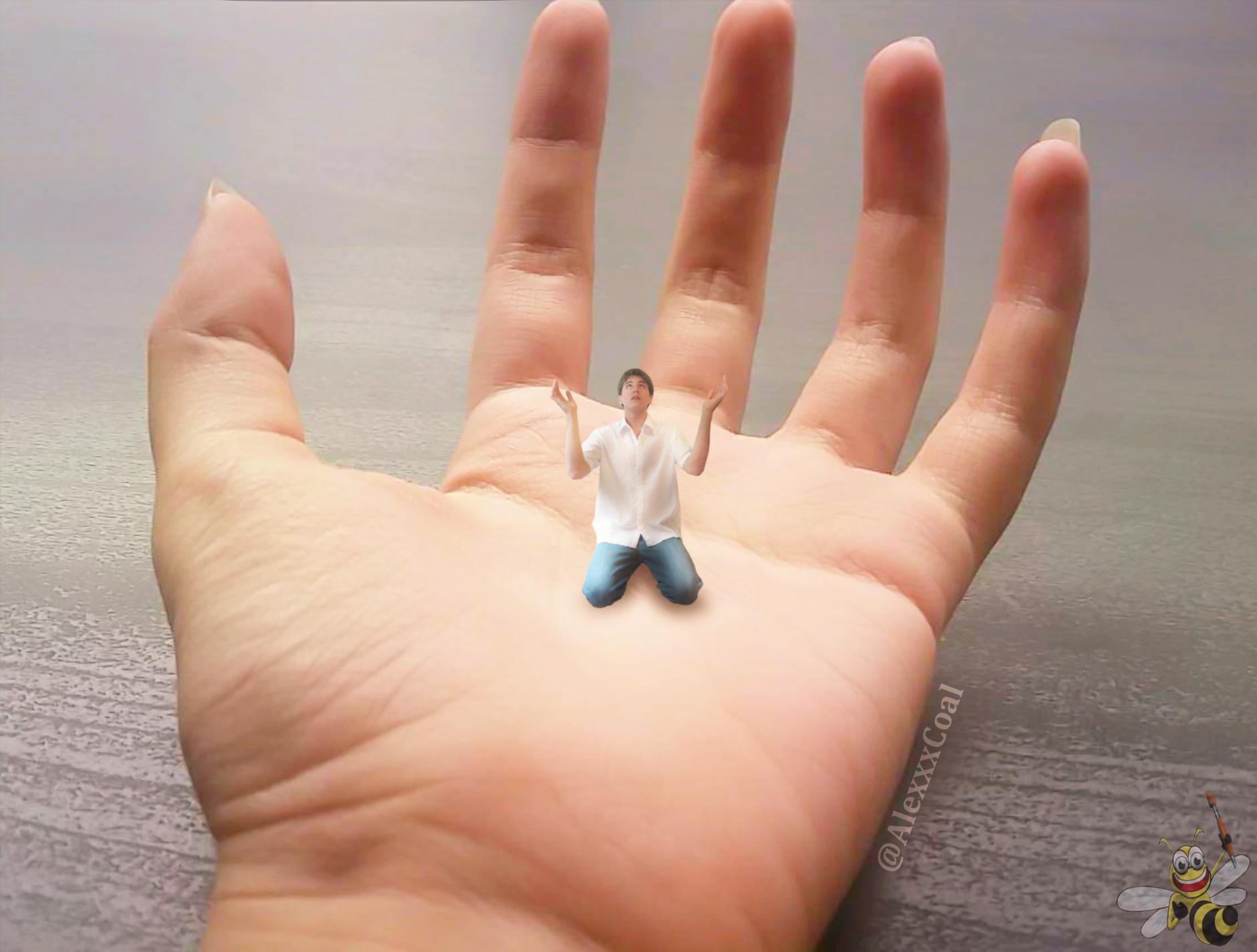 In Her Palm (Alex Coal) by LittleBee8705