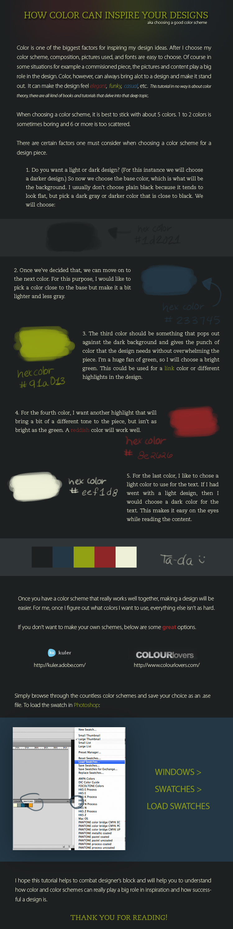 Choosing Good Color Schemes by fantasy-alive