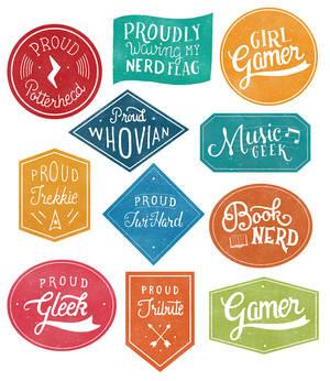 Geek Badges