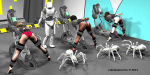 Robot Spider Attack 3 : Wanted Warriors 03 of 18