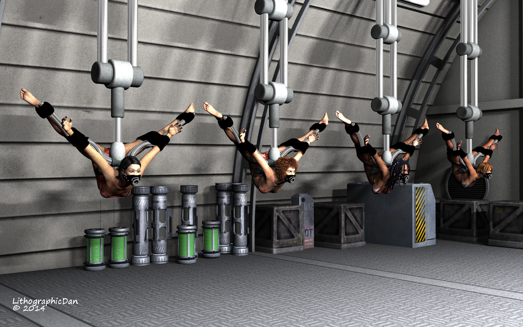 Robot Spider Attack 4 : Test Subjects 02 of 12 by