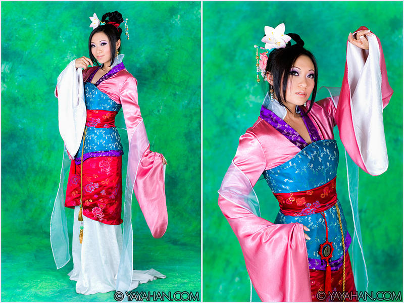 Disney's Mulan by yayacosplay