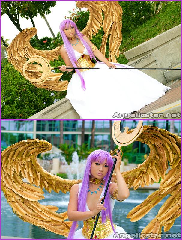Goddess Athena - Saint Seiya by yayacosplay