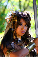 Warrior Goddess by yayacosplay
