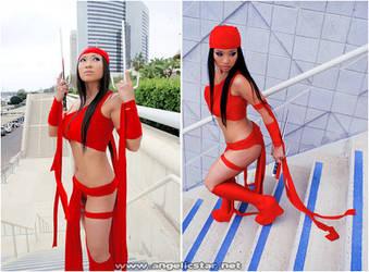 Elektra - The Comic Book by yayacosplay