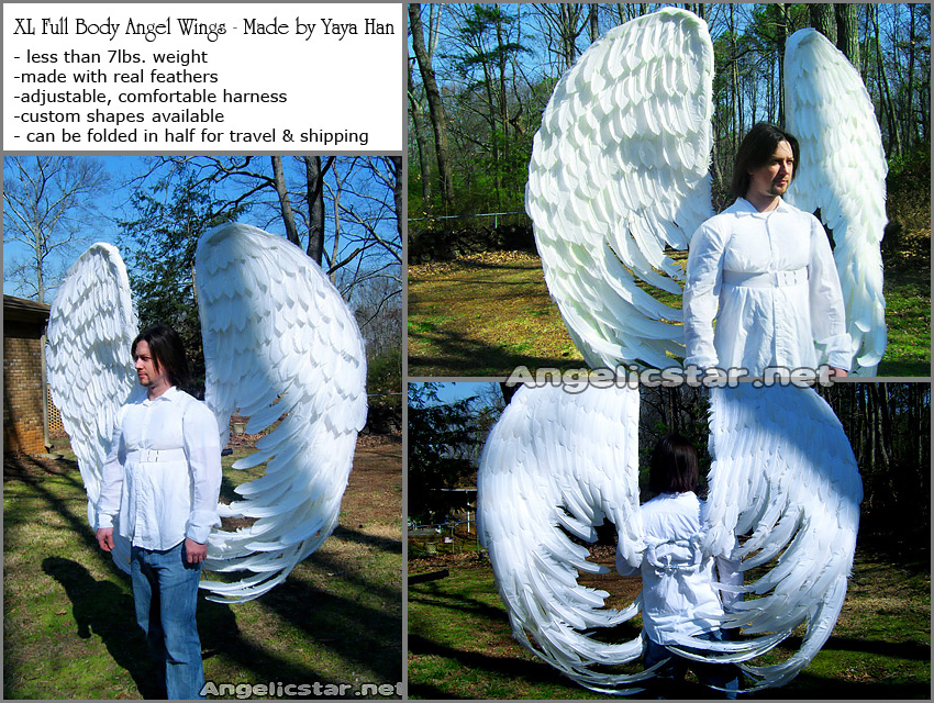 Commission: Angel Wings by yayacosplay