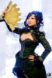 Steampunk Madam at Ohayocon 09 by yayacosplay