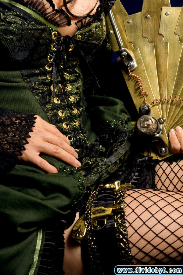 Steampunk Madam - Close up by yayacosplay