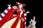 Carmilla + Charlotte on Stage