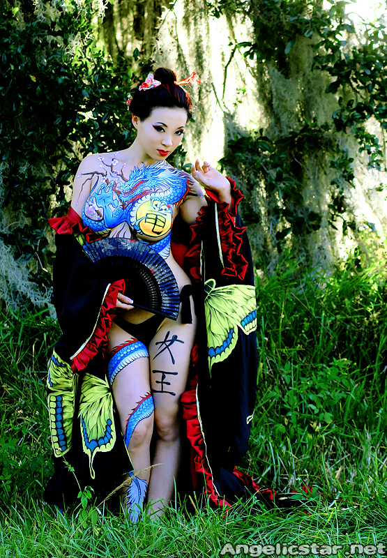 Yakuza bodypaint I by yayacosplay