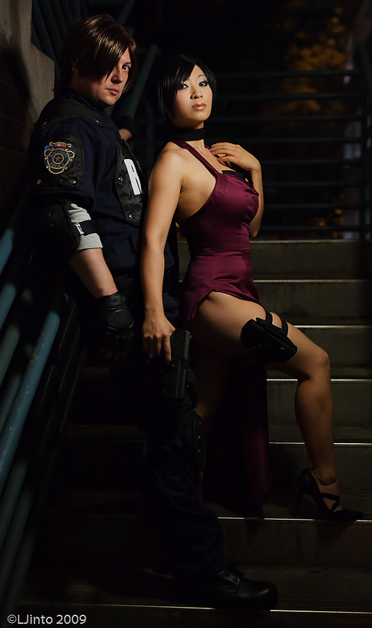 Resident Evil 4 - Leon and Ada by yayacosplay