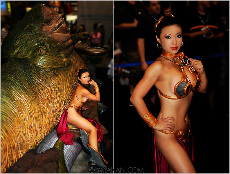 Slave Leia At Comic Con II By Yayacosplay On DeviantArt