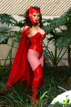 New costume: Scarlet Witch