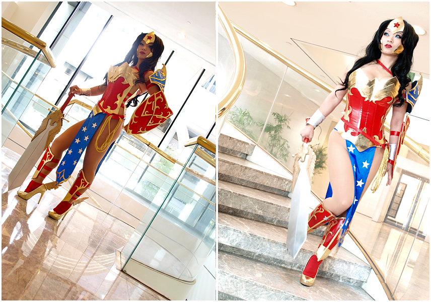 Ame-Comi Wonder Woman by yayacosplay
