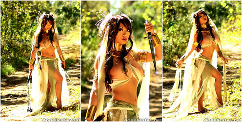 Enyo: Goddess of War by yayacosplay