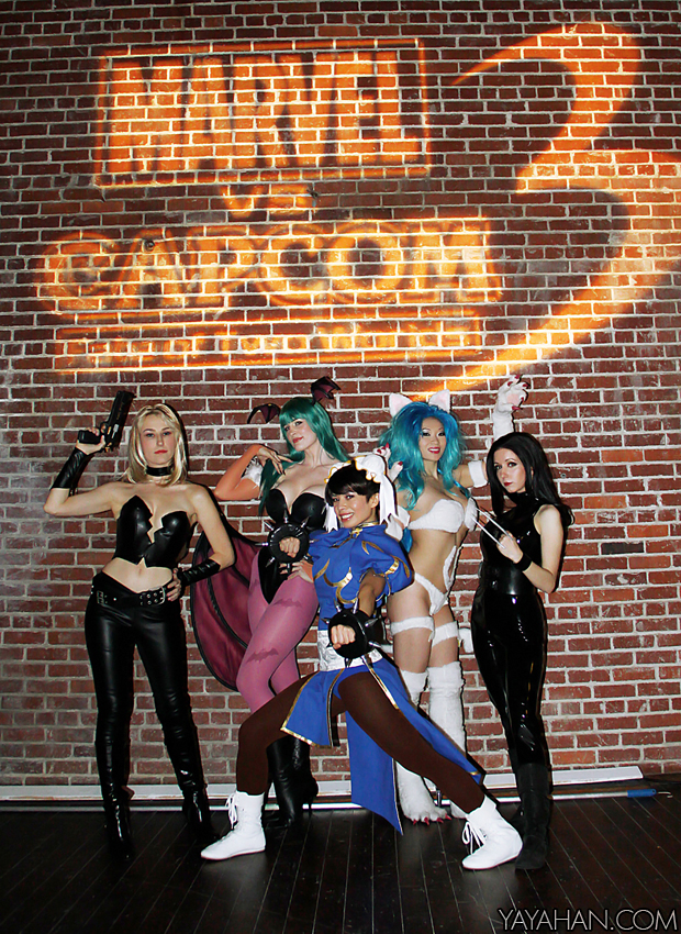 Marvel vs Capcom models II by yayacosplay