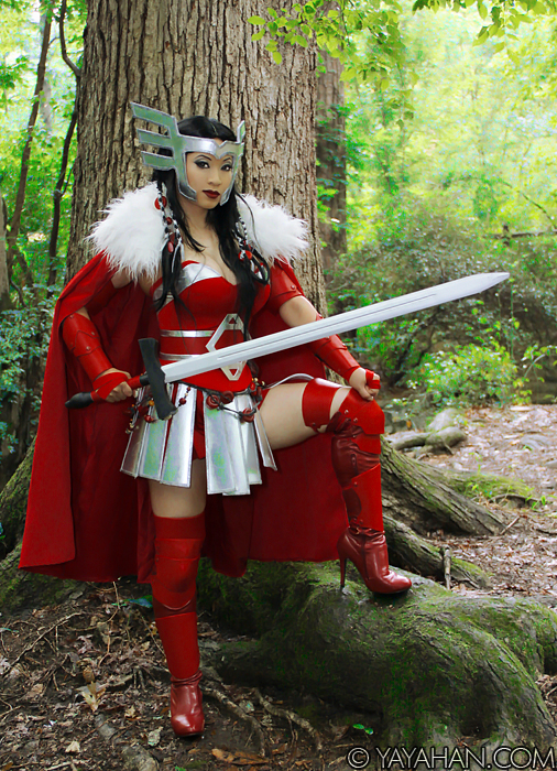 Lady Sif of Asgard by yayacosplay