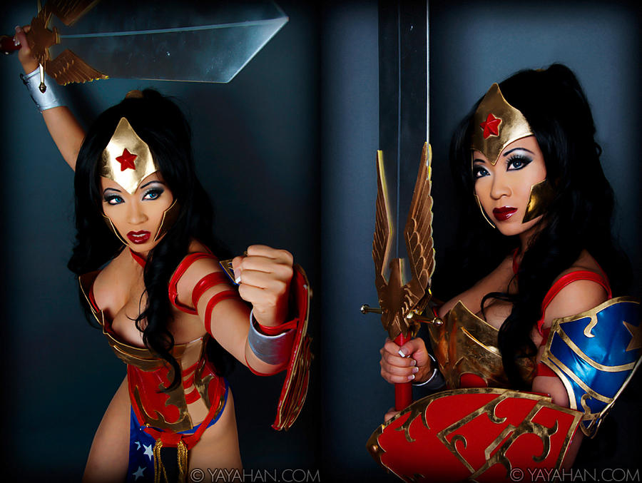 Wonder Woman Studio Shots by yayacosplay