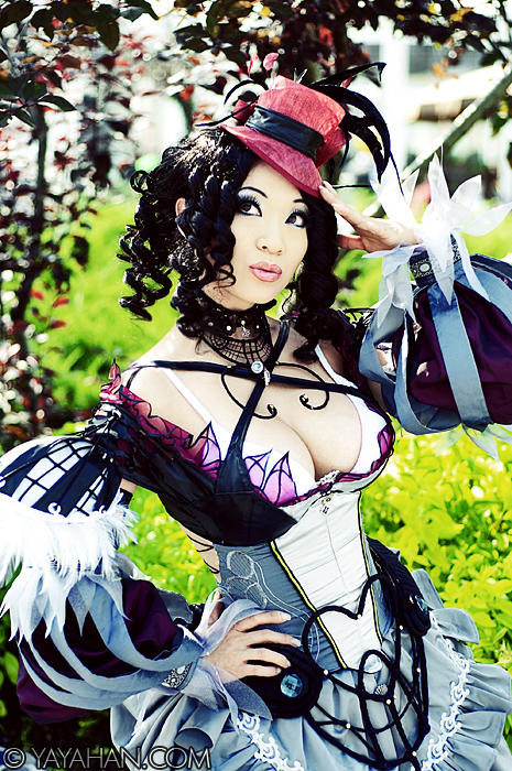 The coquettish Dame by yayacosplay