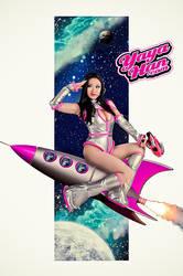 Space Girl Pin-up by yayacosplay
