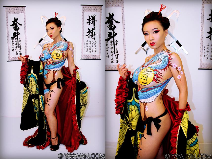 yakuza | Model - Yaya Han Costume made by - Yaya Han