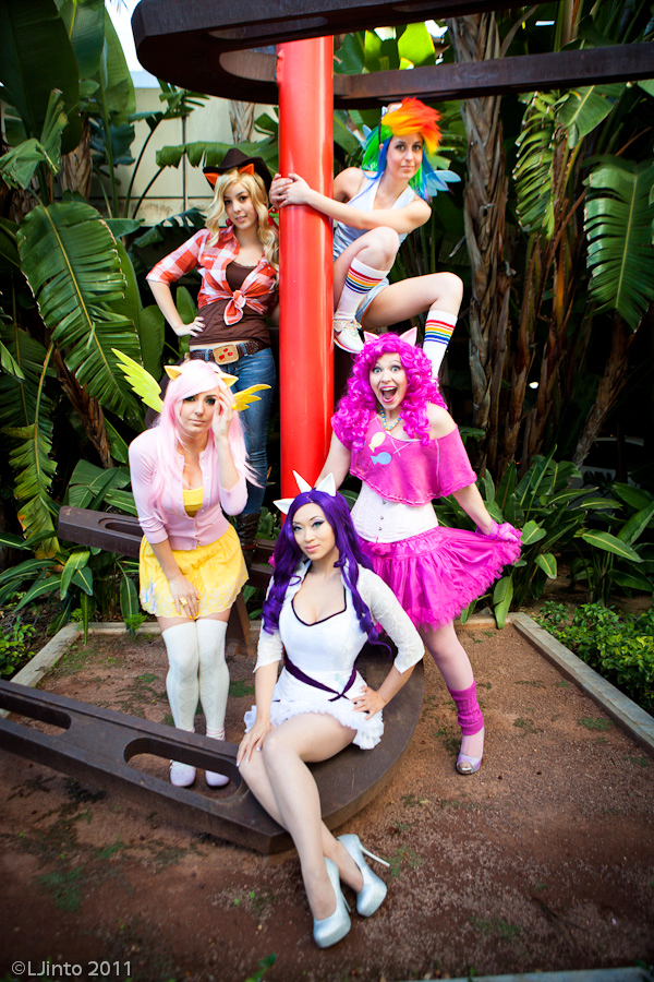Ladies of Equestria by yayacosplay
