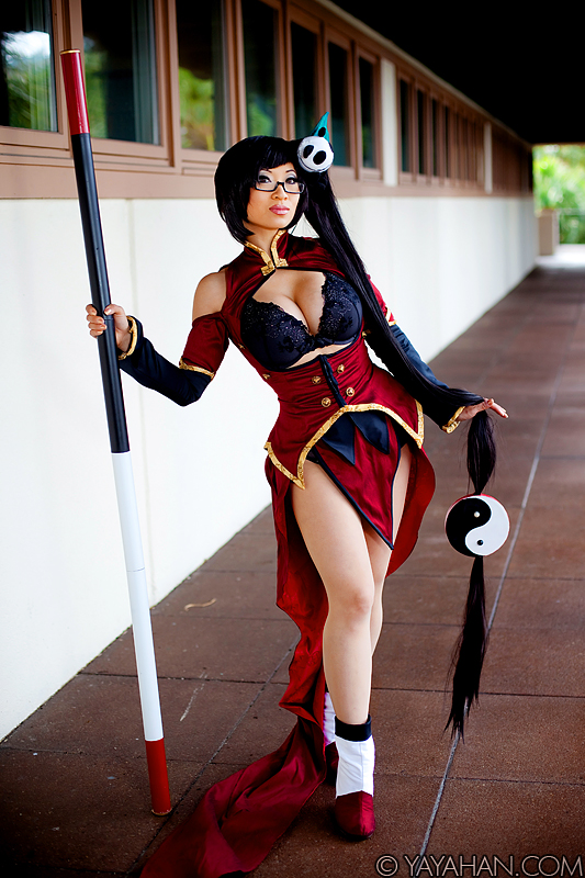 BlazBlue Cosplay Litchi Faye Ling Female Cosplay Boots