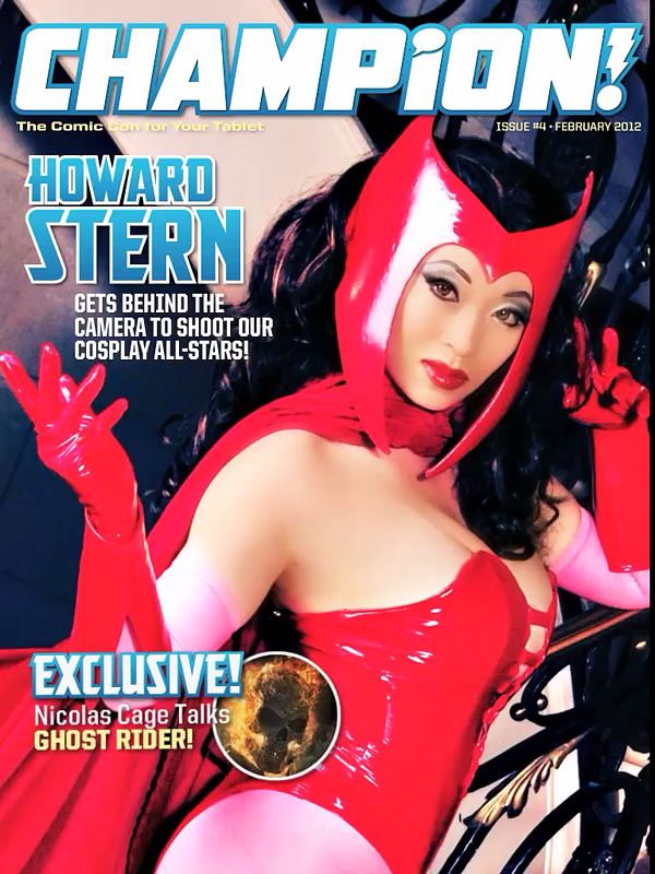 Champion Magazine cover by yayacosplay