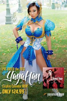 New Chun Li cosplay - Calendar Pre-order