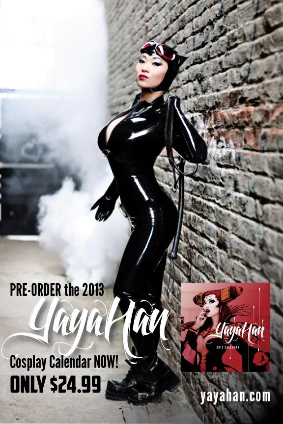 Catwoman teaser - 2013 Yaya Han Calendar by yayacosplay