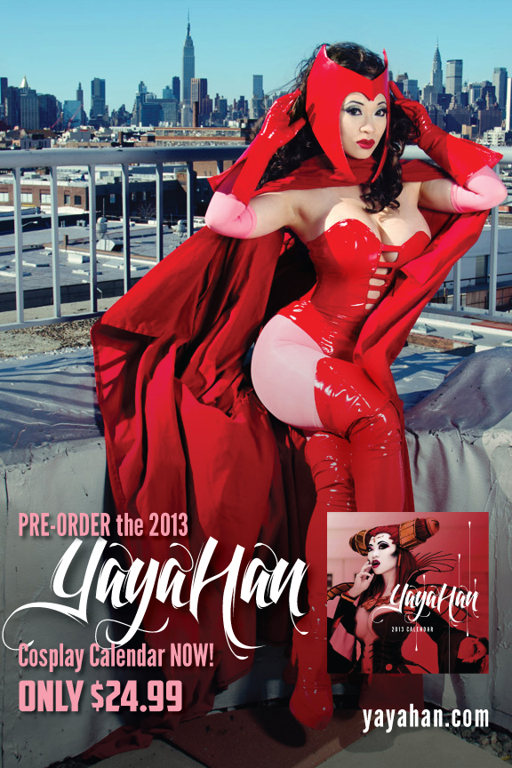 Scarlet Witch teaser - 2013 Calendar by yayacosplay