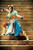 Fighting Stance by yayacosplay