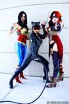 DC Comics video game girls