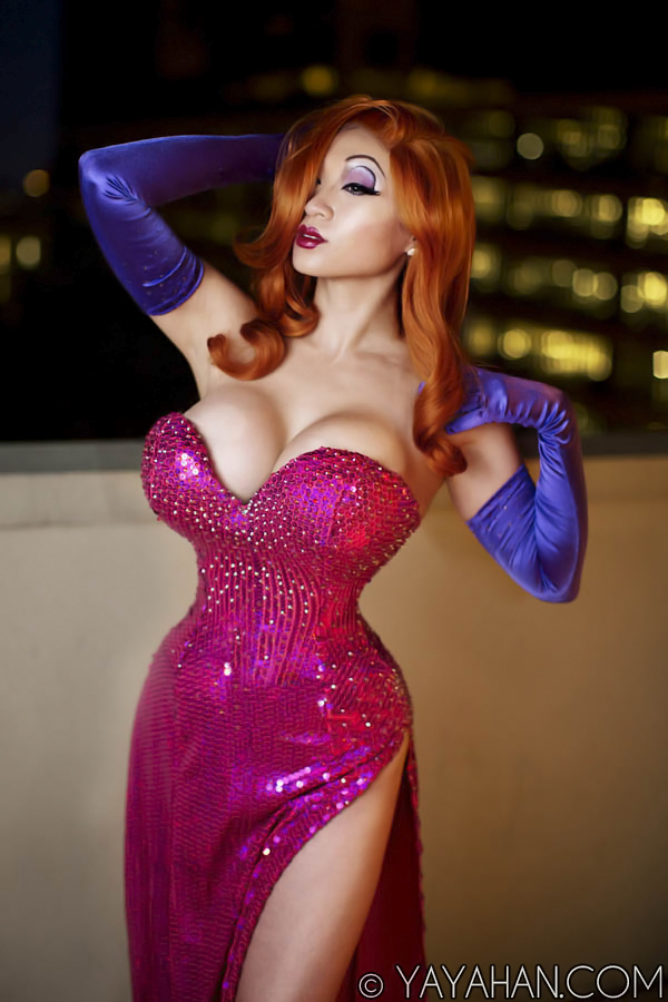 Jessica Rabbit by yayacosplay