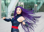 Psylocke Hairflip