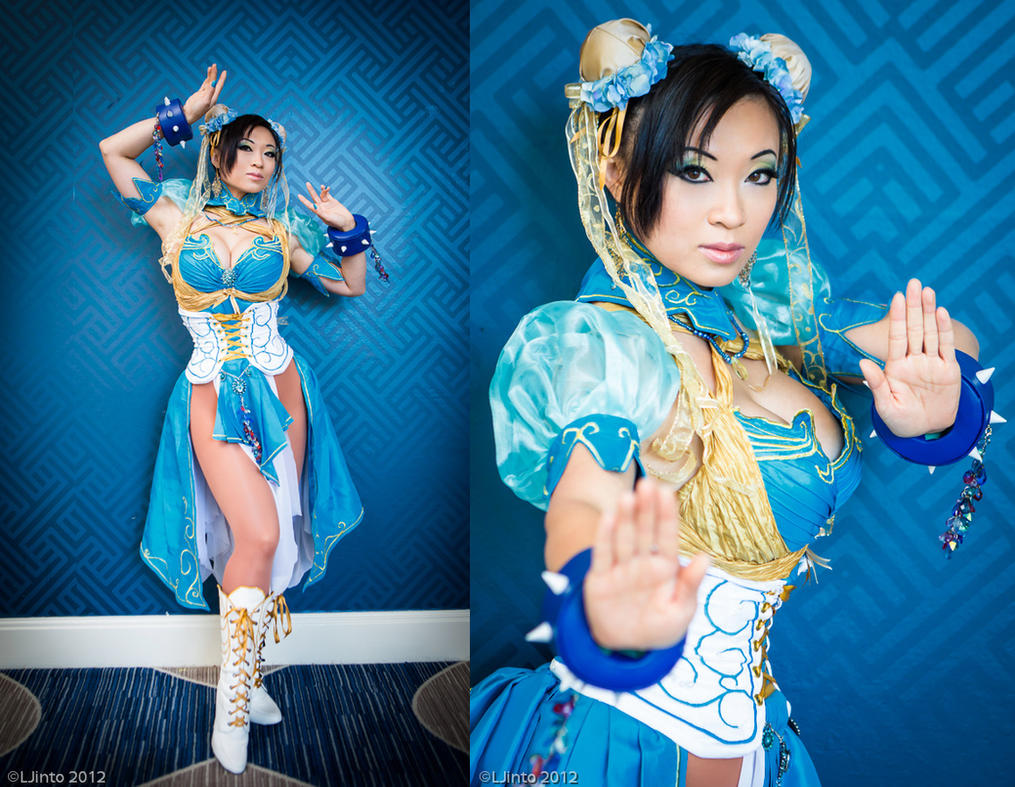 Chun Li - Art Nouveau Design by yayacosplay