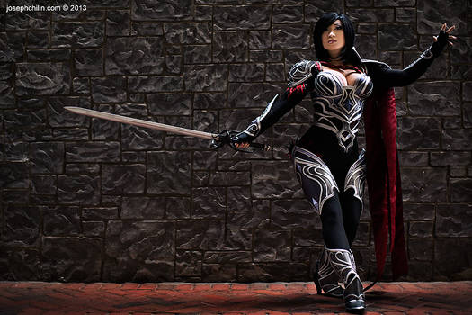 New costume! Nightraven Fiora - League of Legends