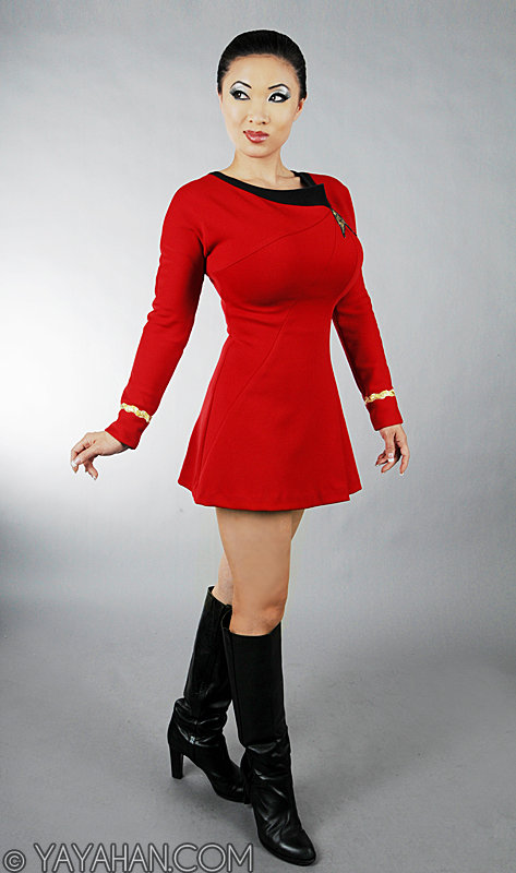 Anovos Star Trek TOS Red Dress by yayacosplay
