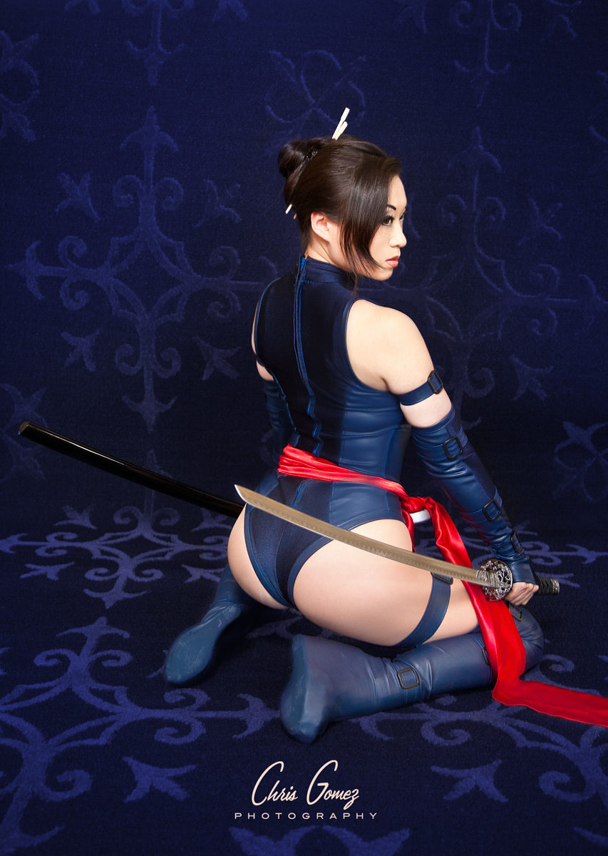 Psylocke: X-Men by yayacosplay