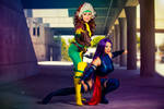 X-Men duo: Rogue and Psylocke