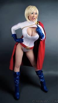 2014 Calendar teaser - Power Girl by yayacosplay