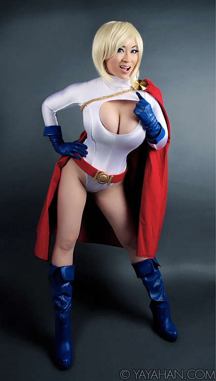 2014 Calendar teaser - Power Girl by yayacosplay