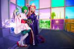 Macross Frontier - Ranka and Sheryl
