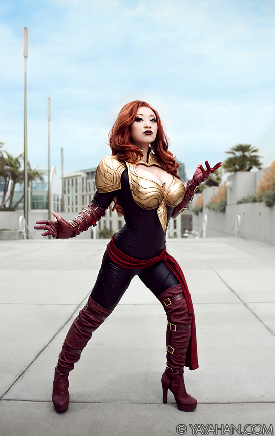 Phoenix Force - Marvel Avengers Alliance debut by yayacosplay