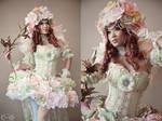 Sakizou style Princess White Rose - Saga Frontier