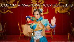 Cosplay = Practicing your Google Fu