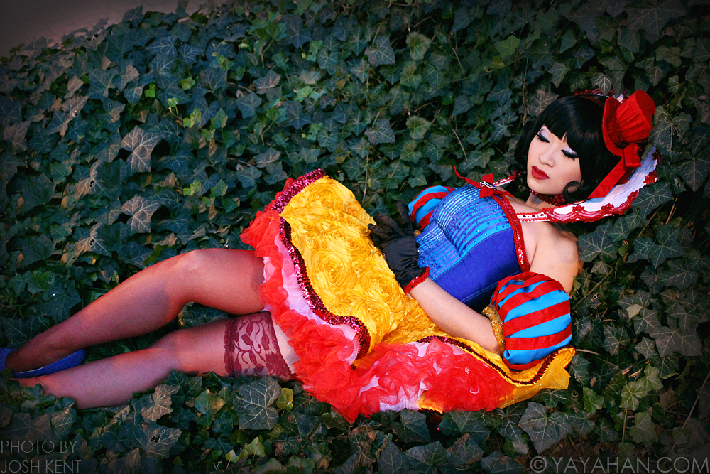 New costume - Moulin Rouge style Snow White by yayacosplay