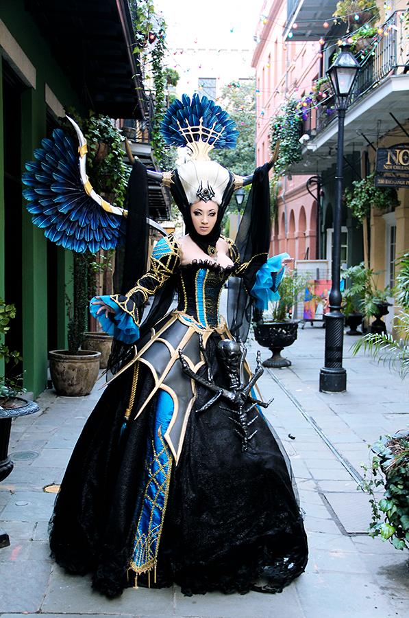 New costume: Banshee Queen Enira - Lineage 2