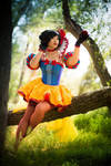Snow White Cosplay - Moulin Rouge style