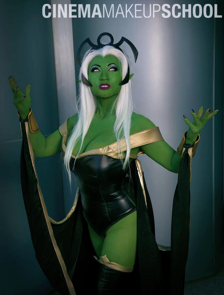 New costume: Skrull Storm - X Men by yayacosplay